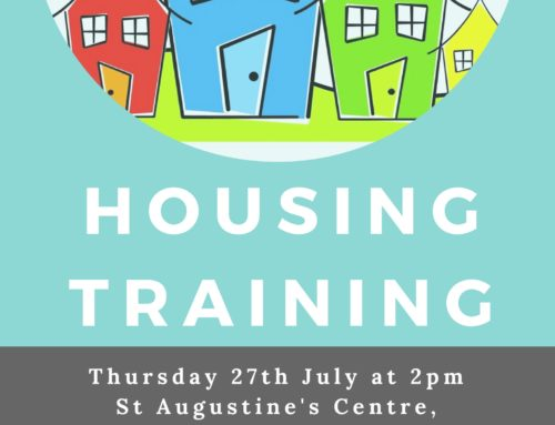 Housing Training – Thursday 27th July 2pm