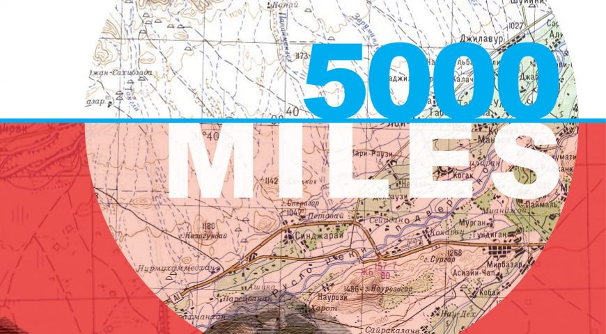 5000 miles – Book launch!