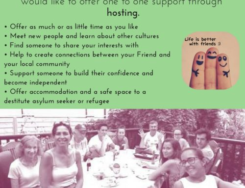 Want to make a real difference to the life of an asylum seeker or refugee living in Calderdale but not sure how?