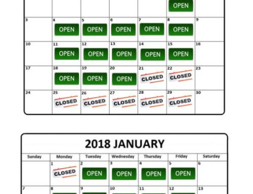 St Augustine's Centre Christmas and New Year Opening Hours