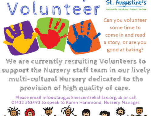 Nursery Volunteer position available