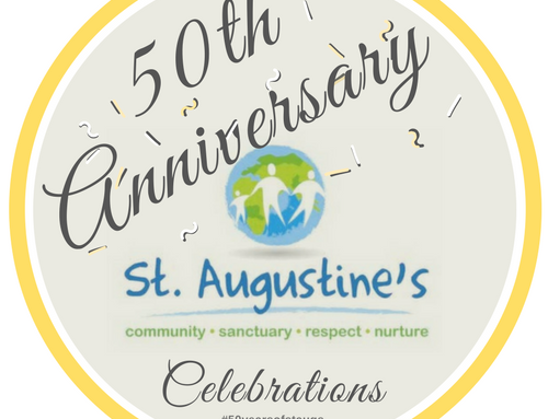 We're turning 50!! #50yearsofstaugs – Don't forget, you are invited to our working party meet ups!