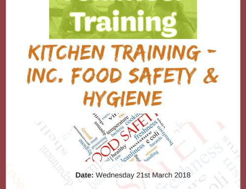 Kitchen Volunteer Training