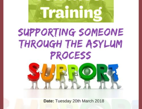 Welcome and Advice Volunteers Training