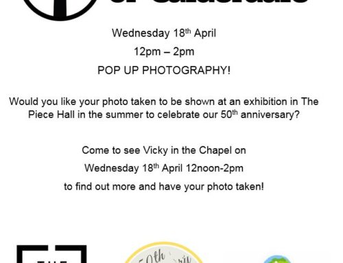 Would you like your photo taken to be shown at an exhibition in The Piece Hall in the summer to celebrate our 50th anniversary? #50yearsofstaugs