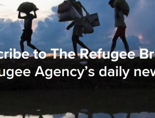 Stay on top of displacement news around the world with The Refugee Brief