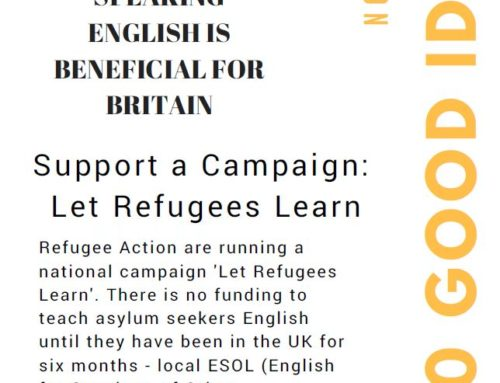 Support a Campaign – Let Refugees Learn