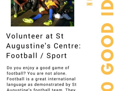 Volunteer at St. Augustine's – Football