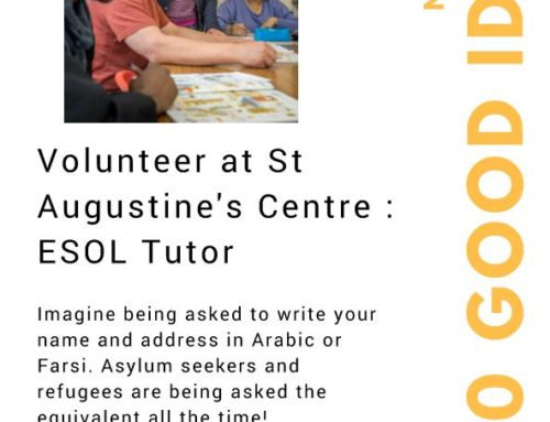 Volunteer at St. Augustine's – ESOL