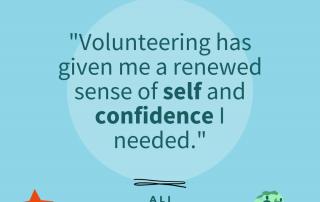 Quote from Ali Volunteer